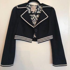 Sailor Swing Crop Blazer
